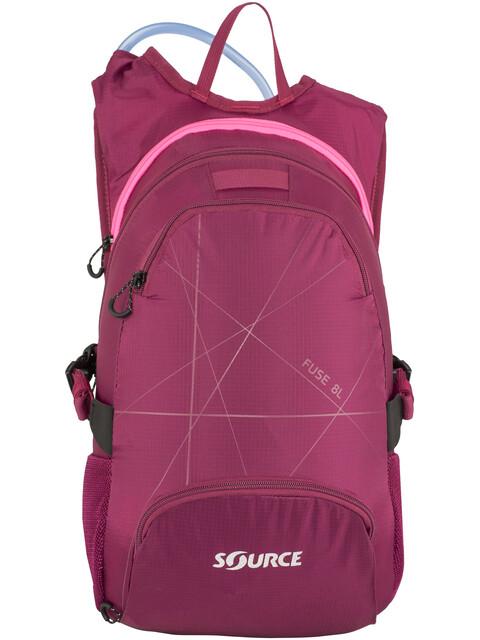 SOURCE Fuse Trinkrucksack 2+6l Purple/ Pink
